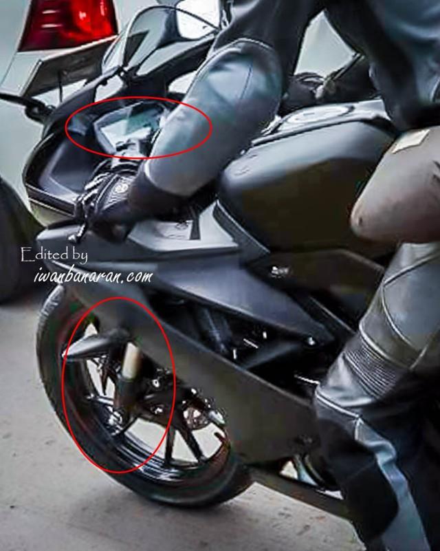 Yamaha R15 3.0 2017 tiếp tục lộ diện với những trang bị mới - Ảnh 3.