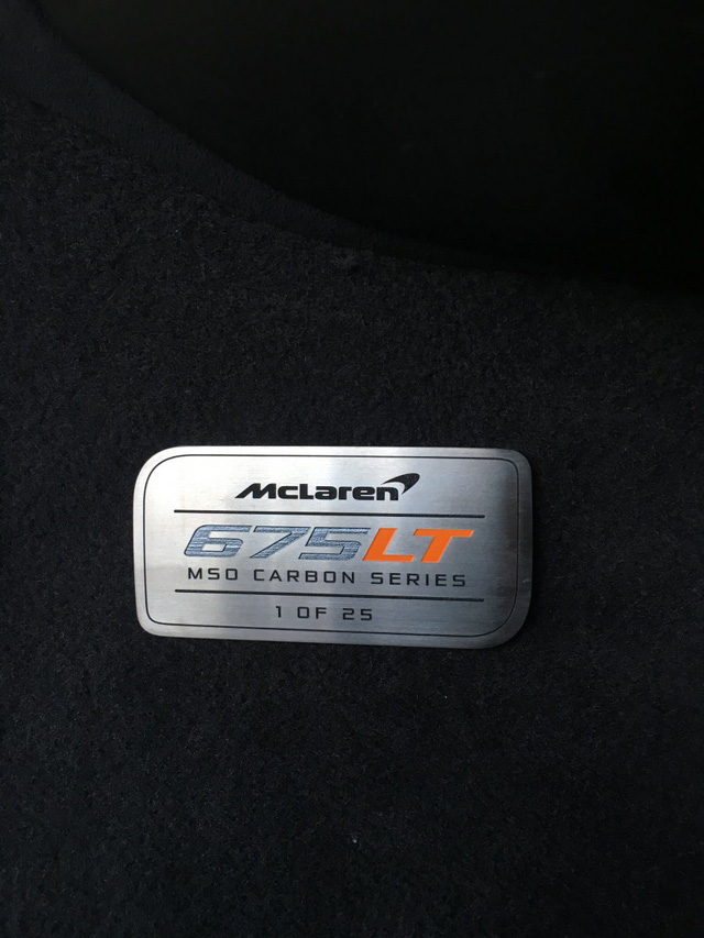 McLaren 675LT Spider Carbon Series siêu hiếm mới về tay chủ đã bị rao bán - Ảnh 4.
