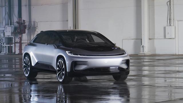 Faraday Future FF 91 - Crossover 1.050 mã lực, ra đời để vùi dập Tesla Model X - Ảnh 1.
