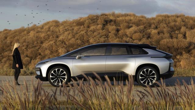 Faraday Future FF 91 - Crossover 1.050 mã lực, ra đời để vùi dập Tesla Model X - Ảnh 2.