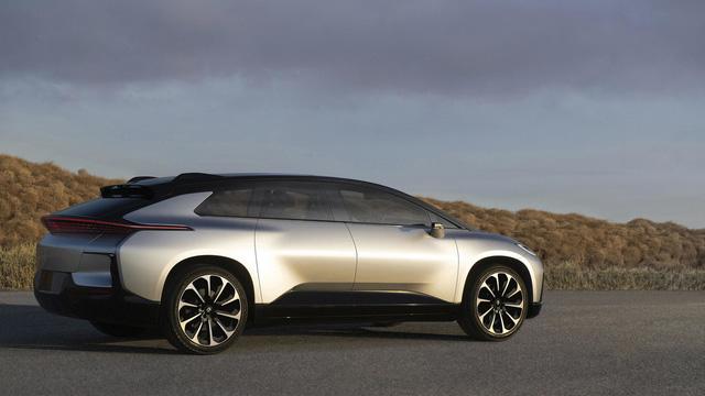 Faraday Future FF 91 - Crossover 1.050 mã lực, ra đời để vùi dập Tesla Model X - Ảnh 4.
