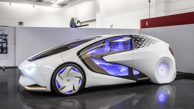 Toyota Concept-i - Xe ý tưởng siêu độc đáo - Ảnh 1.