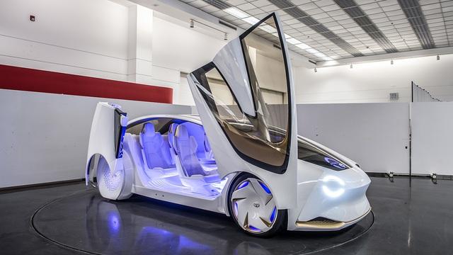 Toyota Concept-i - Xe ý tưởng siêu độc đáo - Ảnh 3.