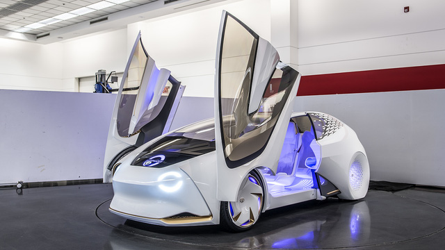 Toyota Concept-i - Xe ý tưởng siêu độc đáo - Ảnh 4.