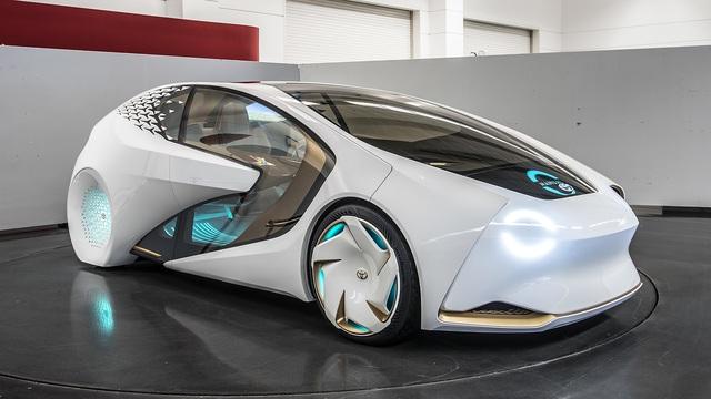 Toyota Concept-i - Xe ý tưởng siêu độc đáo - Ảnh 5.
