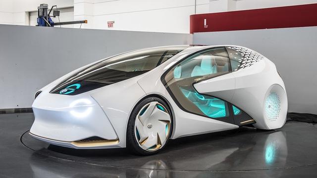 Toyota Concept-i - Xe ý tưởng siêu độc đáo - Ảnh 6.