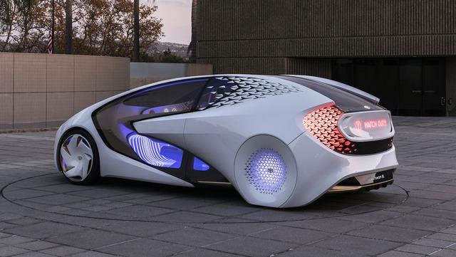 Toyota Concept-i - Xe ý tưởng siêu độc đáo - Ảnh 13.