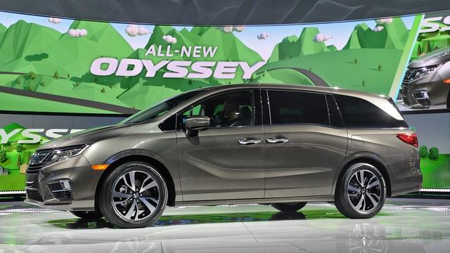 Honda Odyssey 2018 với thiết kế khác xe ở Việt Nam chính thức được vén màn - Ảnh 1.