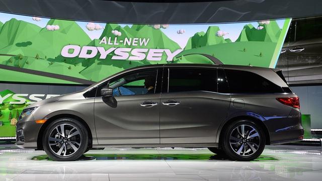 Honda Odyssey 2018 với thiết kế khác xe ở Việt Nam chính thức được vén màn - Ảnh 6.