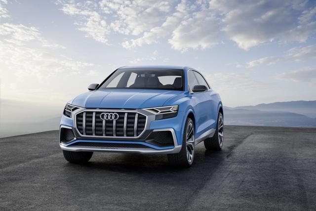 Vén màn SUV hạng sang công nghệ cao Audi Q8 - Ảnh 2.