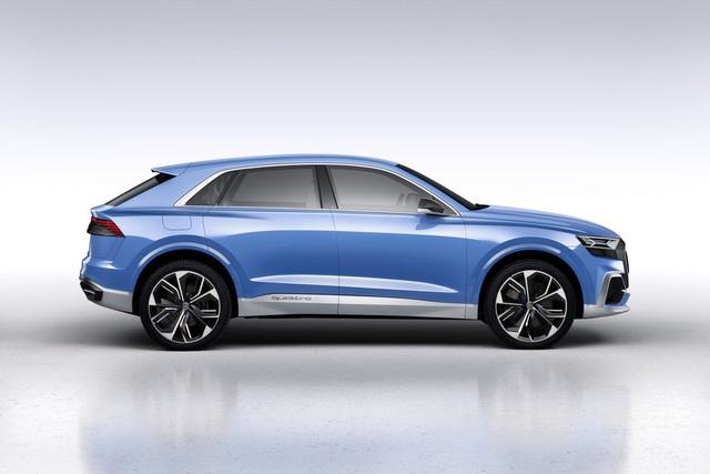 Vén màn SUV hạng sang công nghệ cao Audi Q8 - Ảnh 3.