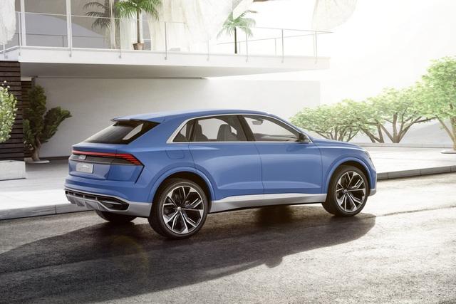 Vén màn SUV hạng sang công nghệ cao Audi Q8 - Ảnh 4.