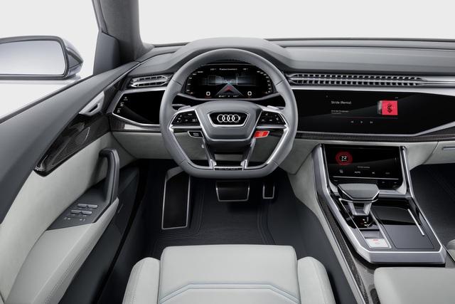 Vén màn SUV hạng sang công nghệ cao Audi Q8 - Ảnh 12.