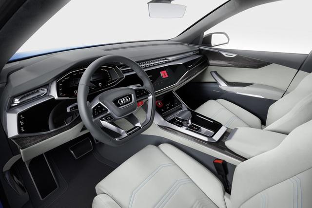 Vén màn SUV hạng sang công nghệ cao Audi Q8 - Ảnh 14.