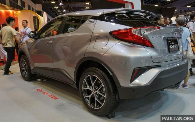 Crossover cỡ nhỏ Toyota C-HR ra mắt Đông Nam Á - Ảnh 2.