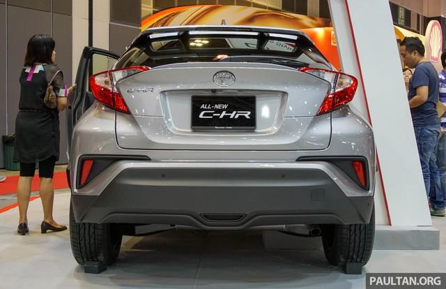 Crossover cỡ nhỏ Toyota C-HR ra mắt Đông Nam Á - Ảnh 3.