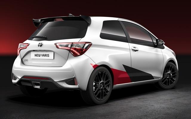 Toyota Yaris 2017 phiên bản hiệu suất cao lộ diện - Ảnh 1.