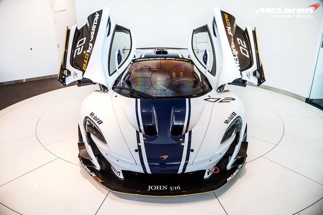 1 trong 35 chiếc McLaren P1 GTR trên toàn thế giới tìm chủ mới - Ảnh 2.