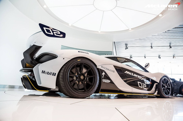 1 trong 35 chiếc McLaren P1 GTR trên toàn thế giới tìm chủ mới - Ảnh 5.