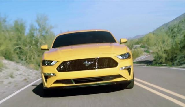 Ford Mustang 2018 bất ngờ được hé lộ thiết kế - Ảnh 2.
