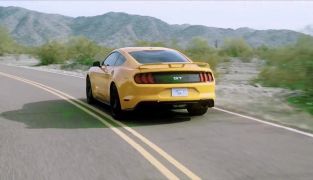 Ford Mustang 2018 bất ngờ được hé lộ thiết kế - Ảnh 3.
