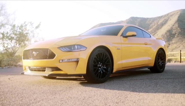 Ford Mustang 2018 bất ngờ được hé lộ thiết kế - Ảnh 4.