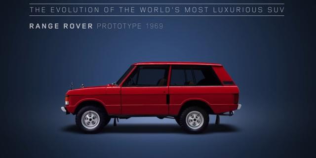 Video gói gọn quá trình tiến hóa trong 48 năm của SUV hạng sang Range Rover - Ảnh 2.