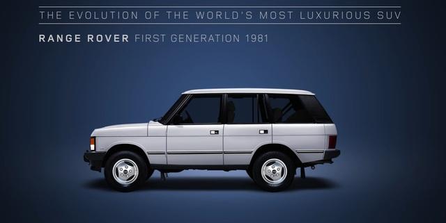 Video gói gọn quá trình tiến hóa trong 48 năm của SUV hạng sang Range Rover - Ảnh 5.