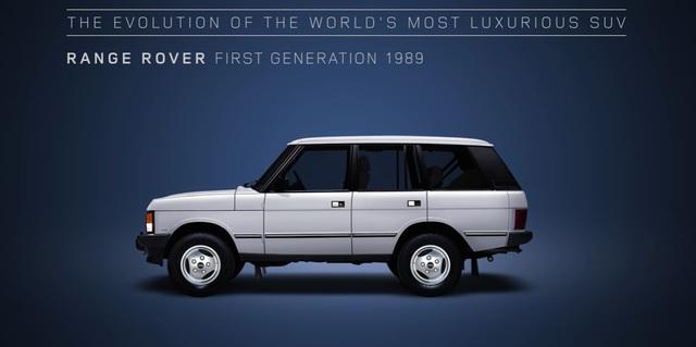 Video gói gọn quá trình tiến hóa trong 48 năm của SUV hạng sang Range Rover - Ảnh 6.