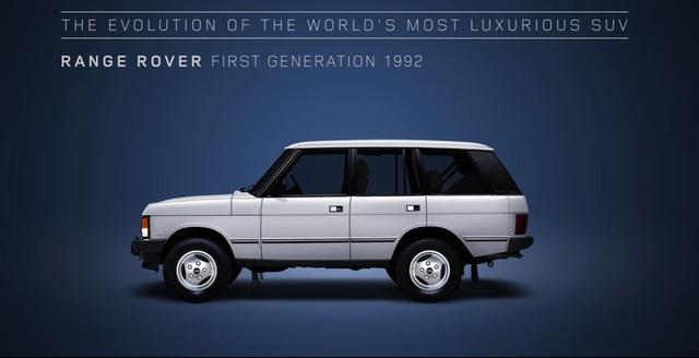 Video gói gọn quá trình tiến hóa trong 48 năm của SUV hạng sang Range Rover - Ảnh 7.