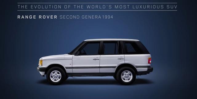 Video gói gọn quá trình tiến hóa trong 48 năm của SUV hạng sang Range Rover - Ảnh 8.
