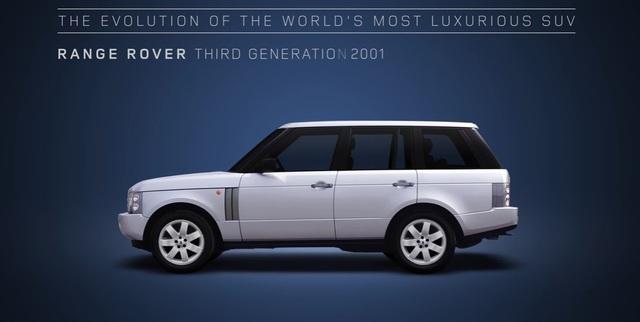 Video gói gọn quá trình tiến hóa trong 48 năm của SUV hạng sang Range Rover - Ảnh 9.