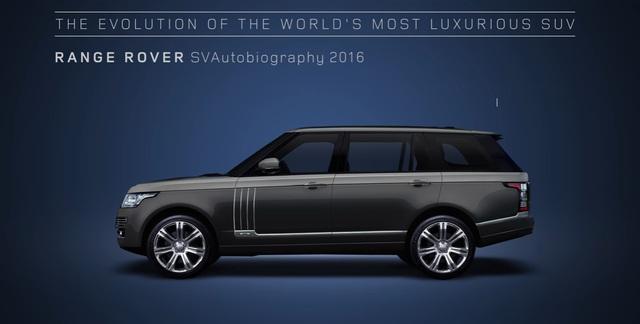 Video gói gọn quá trình tiến hóa trong 48 năm của SUV hạng sang Range Rover - Ảnh 13.