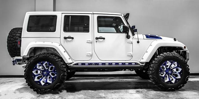 Jeep Wrangler độ theo phong cách Star Wars đầy ấn tượng - Ảnh 1.