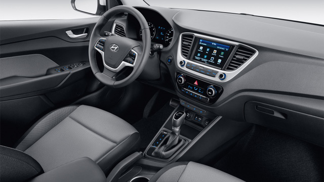 Sedan cỡ nhỏ Hyundai Accent 2018 lộ diện sớm - Ảnh 4.