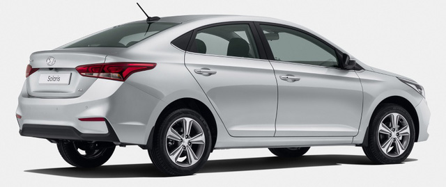 Sedan cỡ nhỏ Hyundai Accent 2018 lộ diện sớm - Ảnh 3.