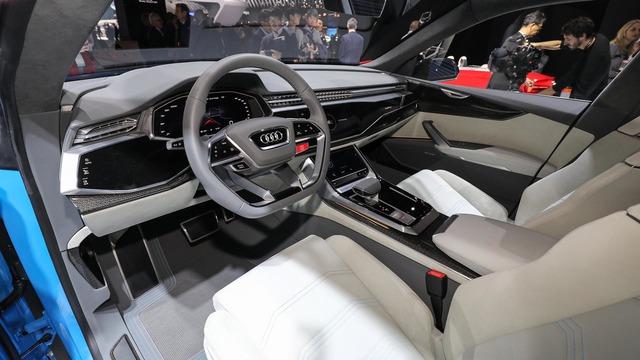 Audi RS Q8 - SUV hạng sang sắp trình làng, chung động cơ với Lamborghini Urus - Ảnh 2.
