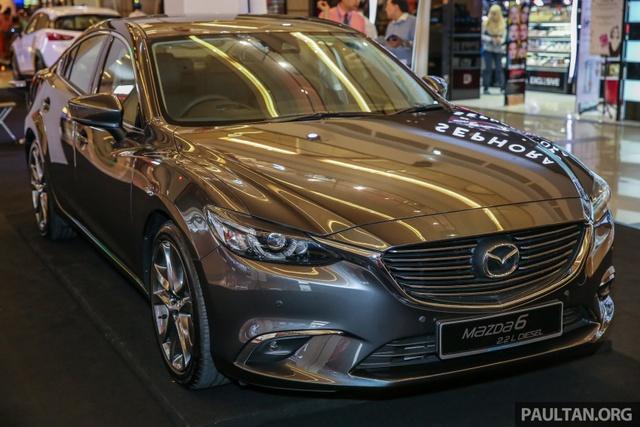 Mazda6 2017 ra mắt Đông Nam Á, sẵn sàng chiến đấu với Toyota Camry - Ảnh 1.