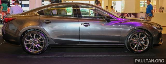 Mazda6 2017 ra mắt Đông Nam Á, sẵn sàng chiến đấu với Toyota Camry - Ảnh 2.