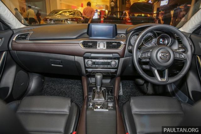 Mazda6 2017 ra mắt Đông Nam Á, sẵn sàng chiến đấu với Toyota Camry - Ảnh 4.