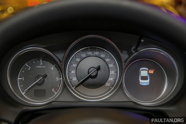 Mazda6 2017 ra mắt Đông Nam Á, sẵn sàng chiến đấu với Toyota Camry - Ảnh 5.