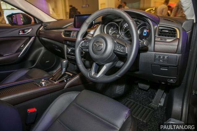 Mazda6 2017 ra mắt Đông Nam Á, sẵn sàng chiến đấu với Toyota Camry - Ảnh 7.