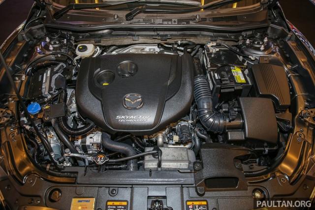 Mazda6 2017 ra mắt Đông Nam Á, sẵn sàng chiến đấu với Toyota Camry - Ảnh 9.