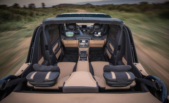 Video cận cảnh SUV siêu sang Mercedes-Maybach G650 Landaulet từ trong ra ngoài - Ảnh 7.