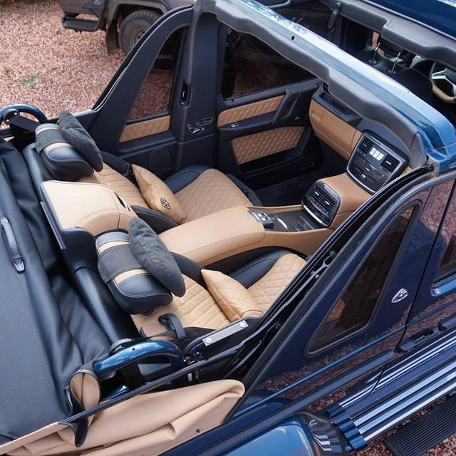 Video cận cảnh SUV siêu sang Mercedes-Maybach G650 Landaulet từ trong ra ngoài - Ảnh 8.