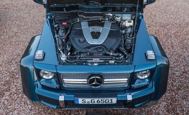 Video cận cảnh SUV siêu sang Mercedes-Maybach G650 Landaulet từ trong ra ngoài - Ảnh 9.