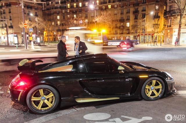 Siêu phẩm Gemballa Mirage GT Gold Edition tái xuất sau 4,5 năm mất hút - Ảnh 3.