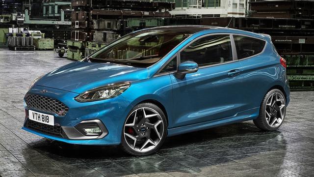 Phiên bản hiệu suất cao của Ford Fiesta trình làng - Ảnh 1.