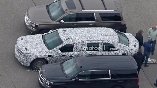 Limousine bọc thép chống đạn của Tổng thống Donald Trump tiếp tục lộ diện - Ảnh 3.