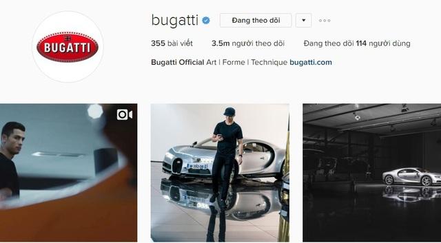 Xem Cristiano Ronaldo cầm lái siêu phẩm triệu đô Bugatti Chiron - Ảnh 4.